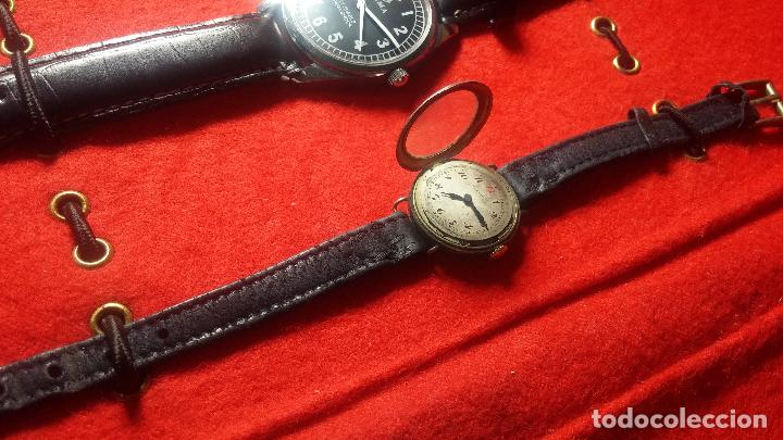 Relojes de pulsera: Botita cartera con reloj de cuerda Olma,los otros 7 relojes de cuerda que contiene se regalan - Foto 62 - 113733395