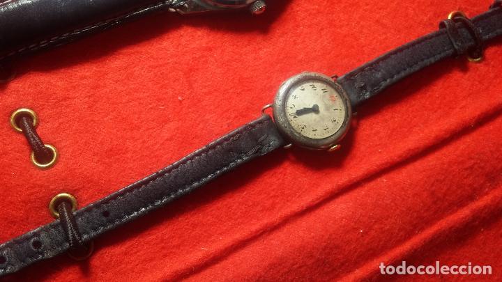 Relojes de pulsera: Botita cartera con reloj de cuerda Olma,los otros 7 relojes de cuerda que contiene se regalan - Foto 66 - 113733395