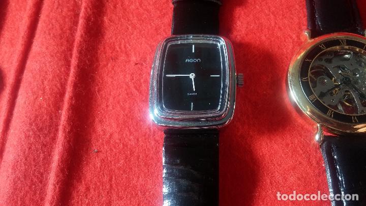 Relojes de pulsera: Botita cartera con reloj de cuerda Olma,los otros 7 relojes de cuerda que contiene se regalan - Foto 81 - 113733395