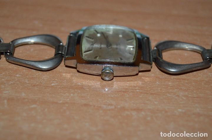 Relojes de pulsera: ANTIGUO - VINTAGE - RELOJ DE PULSERA - CAUNY COMETE - CAJA 28MM - SWISS MADE - HAZ OFERTA - Foto 6 - 113959003