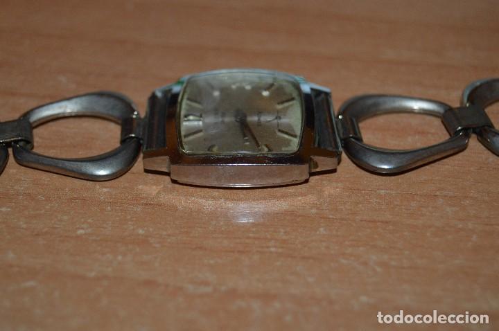 Relojes de pulsera: ANTIGUO - VINTAGE - RELOJ DE PULSERA - CAUNY COMETE - CAJA 28MM - SWISS MADE - HAZ OFERTA - Foto 7 - 113959003