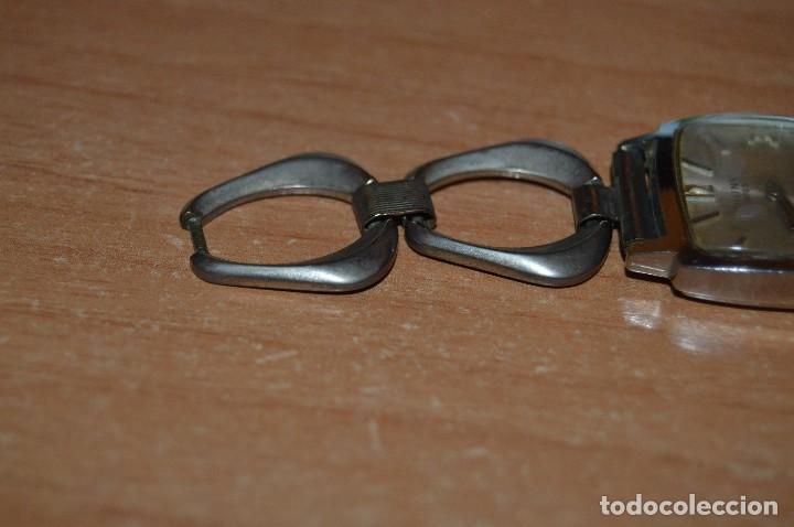 Relojes de pulsera: ANTIGUO - VINTAGE - RELOJ DE PULSERA - CAUNY COMETE - CAJA 28MM - SWISS MADE - HAZ OFERTA - Foto 8 - 113959003