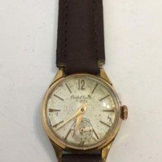 Relojes de pulsera: RELOJ CRISTAL WATCH CARGA MANUAL MAQUINARIA SWISS MADE EN FUNCIONAMIENTO. Lote 114070575