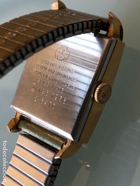 Relojes de pulsera: RELOJ MUJER CAUNY SEGUNDERO Y DIETARIO CAJA CHAPADA ORO CON ARMIS FUNCIONA CORRECTAMENTE AÑOS 40-50 - Foto 7 - 117509339