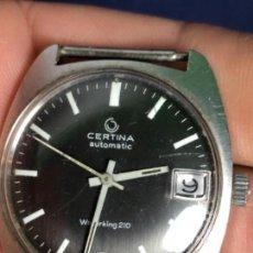Relojes de pulsera: CERTINA AUTOMATIC RELOJ PULSERA SIN PULSERA WATERKING 210 BISEL 28MM DIAMETRO. Lote 114376255