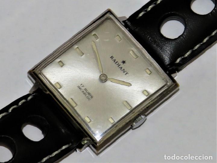 RADIANT MECANICO SUIZO AÑOS 60 (Relojes - Pulsera Carga Manual)