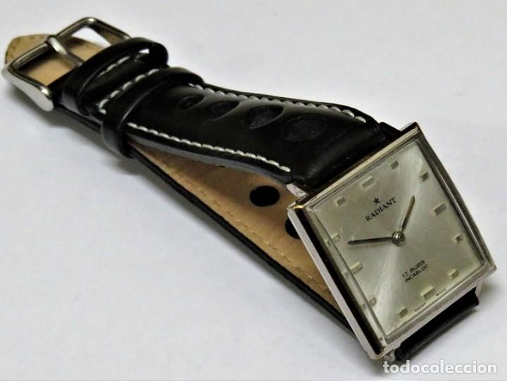 Relojes de pulsera: RADIANT MECANICO SUIZO AÑOS 60 - Foto 3 - 114404795