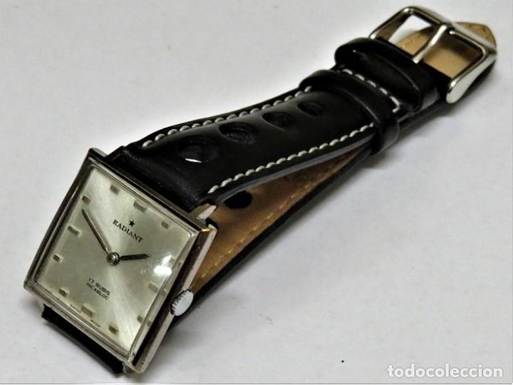 Relojes de pulsera: RADIANT MECANICO SUIZO AÑOS 60 - Foto 4 - 114404795