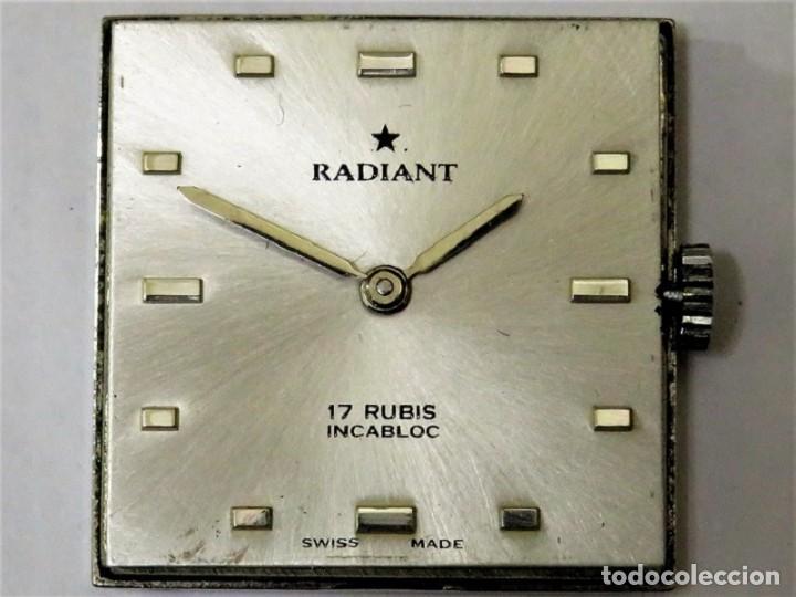 Relojes de pulsera: RADIANT MECANICO SUIZO AÑOS 60 - Foto 8 - 114404795