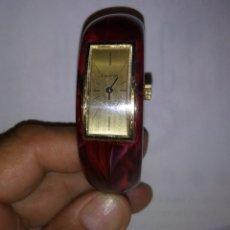 Relojes de pulsera: RELOJ LUCERNE DE DAMA VINTAGE BRAZALET SUIZO. Lote 114493607
