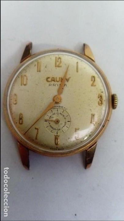 RELOJ CAUNY PRIMA TAMAÑO CADETE (Relojes - Pulsera Carga Manual)