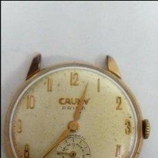 Relojes de pulsera: RELOJ CAUNY PRIMA TAMAÑO CADETE . Lote 114522371