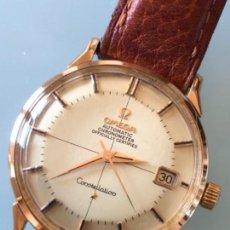 Relojes de pulsera: RELOJ OMEGA PIE PAN CONSTELLATION CAJA SUIZA ORO 18 CALIBRE 561 AÑOS 60. Lote 114634063
