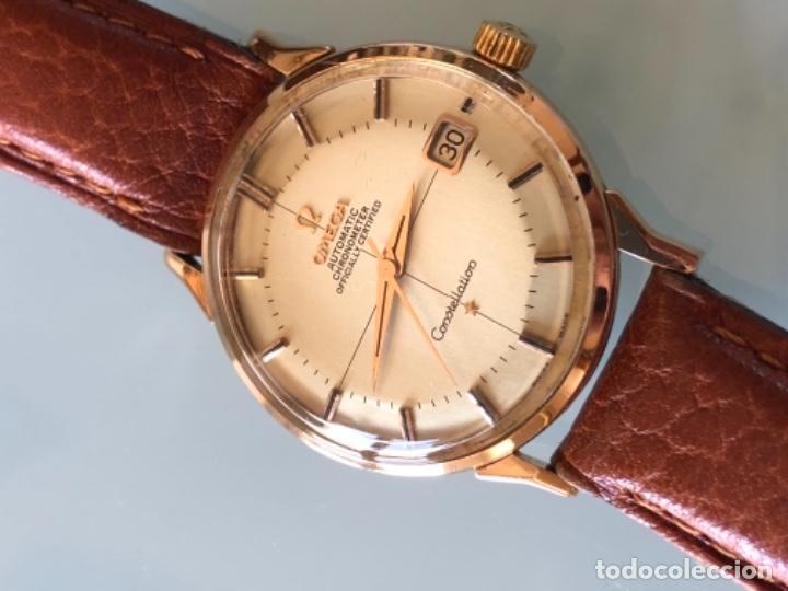 Relojes de pulsera: RELOJ OMEGA PIE PAN CONSTELLATION CAJA SUIZA ORO 18 CALIBRE 561 AÑOS 60 - Foto 2 - 114634063