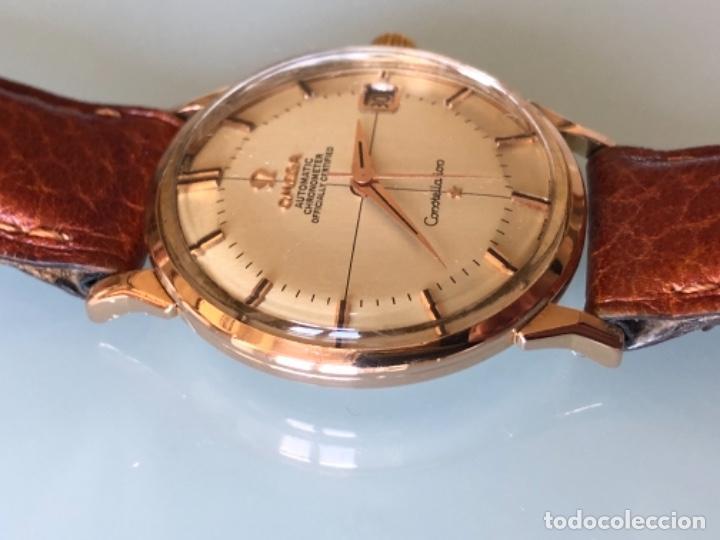 Relojes de pulsera: RELOJ OMEGA PIE PAN CONSTELLATION CAJA SUIZA ORO 18 CALIBRE 561 AÑOS 60 - Foto 4 - 114634063