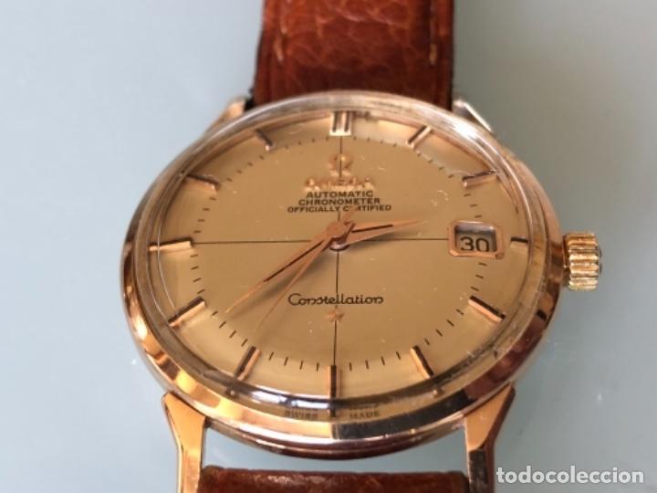 Relojes de pulsera: RELOJ OMEGA PIE PAN CONSTELLATION CAJA SUIZA ORO 18 CALIBRE 561 AÑOS 60 - Foto 5 - 114634063