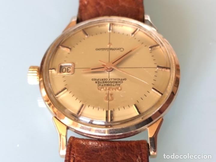 Relojes de pulsera: RELOJ OMEGA PIE PAN CONSTELLATION CAJA SUIZA ORO 18 CALIBRE 561 AÑOS 60 - Foto 6 - 114634063