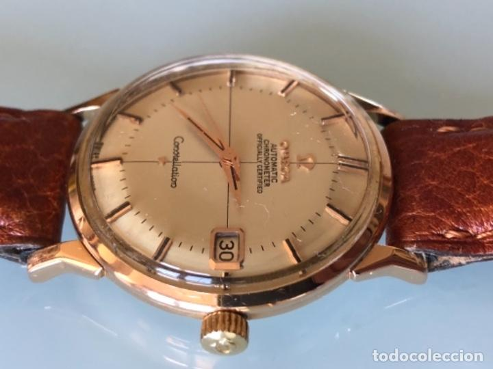 Relojes de pulsera: RELOJ OMEGA PIE PAN CONSTELLATION CAJA SUIZA ORO 18 CALIBRE 561 AÑOS 60 - Foto 7 - 114634063