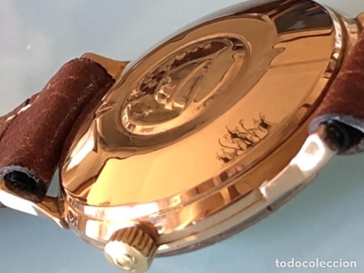 Relojes de pulsera: RELOJ OMEGA PIE PAN CONSTELLATION CAJA SUIZA ORO 18 CALIBRE 561 AÑOS 60 - Foto 12 - 114634063