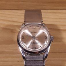 Relojes de pulsera: RELOJ DE PULSERA DE CARGA MANUAL HOBA. AÑOS 70. PARA REPARAR. Lote 114720634