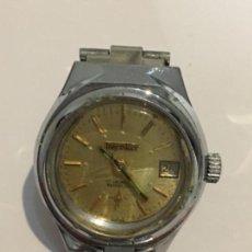 Relojes de pulsera: RELOJ THERMIDOR CARGA MANUAL EN ACERO COMPLETO EN FUNCIONAMIENTO. Lote 106594779