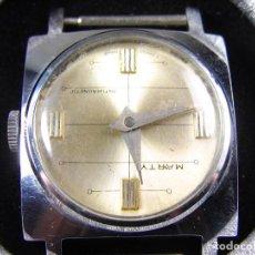 Relojes de pulsera: ULTIMO!!! RELOJ SUIZO DE CADETE AÑOS 60 MECANICO MUY ELEGANTE SIN USO FUNCIONA. Lote 115183175