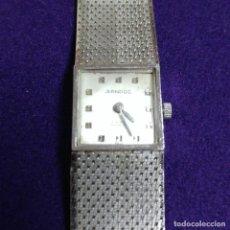Relojes de pulsera: ANTIGUO RELOJ DE PULSERA SANDOZ. SWISS. CARGA MANUAL. EN FUNCIONAMIENTO. AÑOS 50-60. Lote 115305747