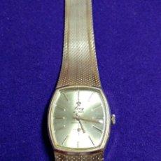 Relojes de pulsera: ANTIGUO RELOJ DE PULSERA LING. 21 PRIX. CARGA MANUAL.PLAQUE ORO.CABALLERO. EN FUNCIONAMIENTO.AÑOS 70. Lote 115306287