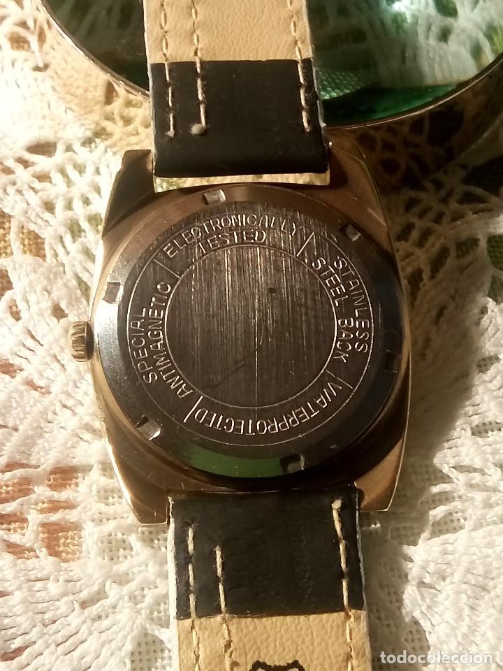 Relojes de pulsera: RELOJ MORTIMA SUPER 28. FUNCIONANDO. 35 MM. S/C. AÑOS 80. DESCRIP. Y FOTOS. - Foto 4 - 115351451