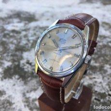 Relojes de pulsera: SÓLIDO RELOJ ARSA PRECISION COMPRESSOR CARGA MANUAL ACERO AÑOS 60. Lote 115357059
