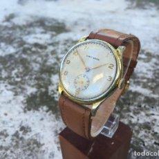 Relojes de pulsera: ANTIGUO RELOJ ASAS FIJAS CONTY WATCH CARGA MANUAL AÑOS 30. Lote 115361443