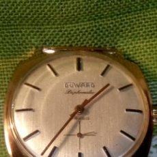 Relojes de pulsera: DUWARD DIPLOMATIC. AÑOS 70. MANUAL.P. ORO 10 M. FUNCIONANDO. MAGNIFICO ESTADO. 34.5 S/C. FOTOS DIVER. Lote 115393571
