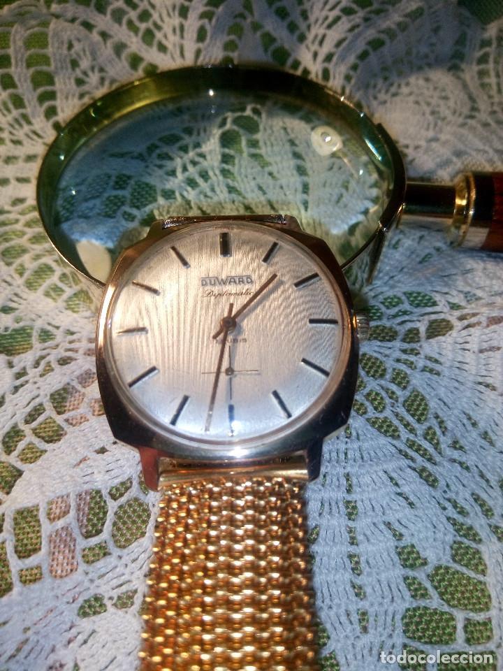 Relojes de pulsera: DUWARD DIPLOMATIC. AÑOS 70. MANUAL.P. ORO 10 M. FUNCIONANDO. MAGNIFICO ESTADO. 34.5 S/C. FOTOS DIVER - Foto 3 - 115393571