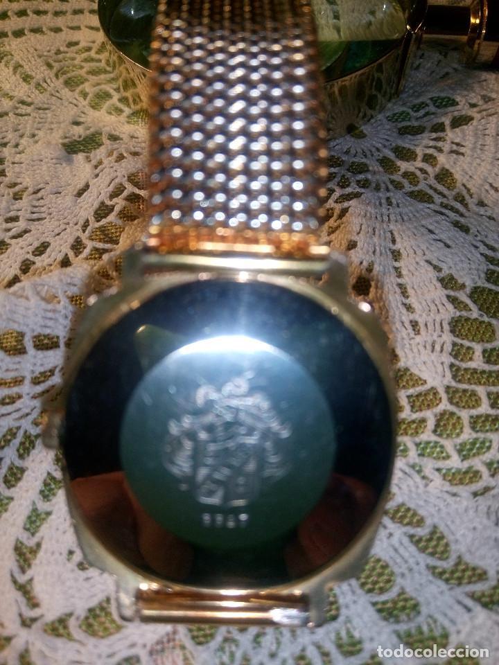 Relojes de pulsera: DUWARD DIPLOMATIC. AÑOS 70. MANUAL.P. ORO 10 M. FUNCIONANDO. MAGNIFICO ESTADO. 34.5 S/C. FOTOS DIVER - Foto 6 - 115393571