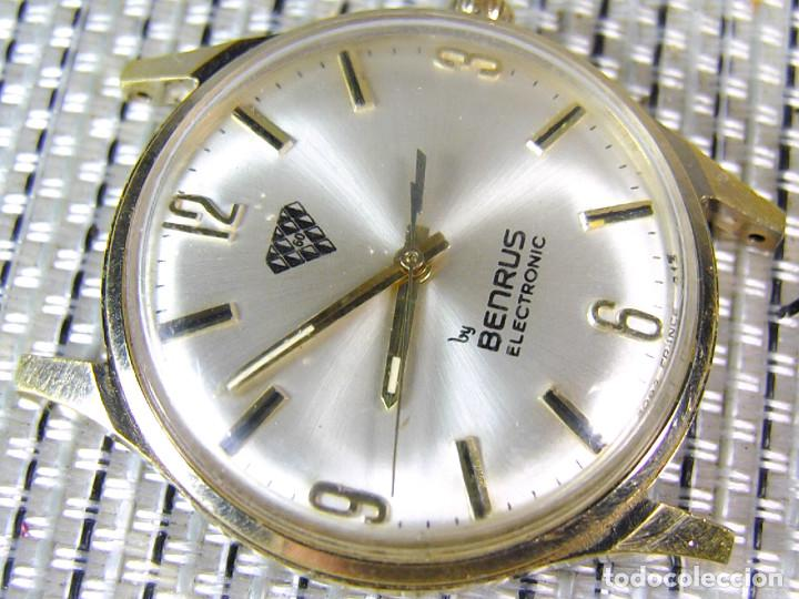 Sin Gama Joya Mecanico Alta Lote Watches Años Uso Frances Electrico Benrus 60 cTlF1J5uK3