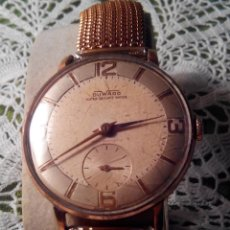 Relojes de pulsera: RELOJ DUWARD - A CUERDA. AÑOS 60. FUNCIONANDO. 38 Y 40 CON C. DESCRIPCION Y FOTOS.. Lote 116068139