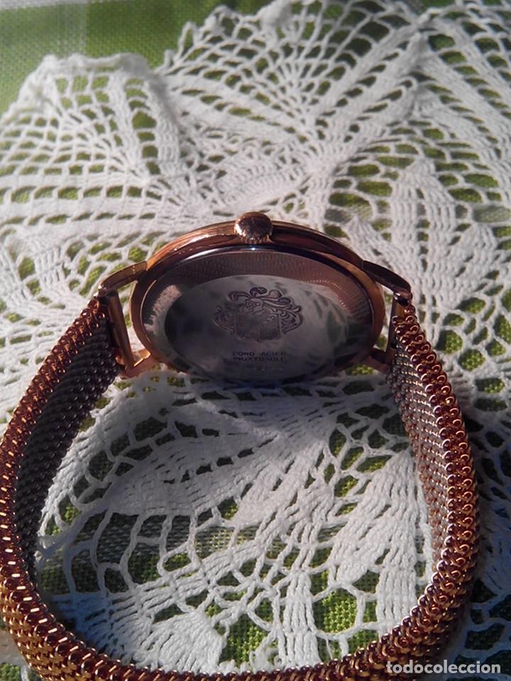 Relojes de pulsera: RELOJ DUWARD - A CUERDA. AÑOS 60. FUNCIONANDO. 38 Y 40 CON C. DESCRIPCION Y FOTOS. - Foto 5 - 116068139