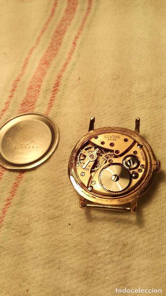Relojes de pulsera: RELOJ DUWARD - A CUERDA. AÑOS 60. FUNCIONANDO. 38 Y 40 CON C. DESCRIPCION Y FOTOS. - Foto 10 - 116068139