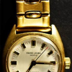 Relojes de pulsera: RELOJ DE PULSERA FAVRE-LEUBA, MODELO DAYMATIC GOLD 14M. Lote 116191395