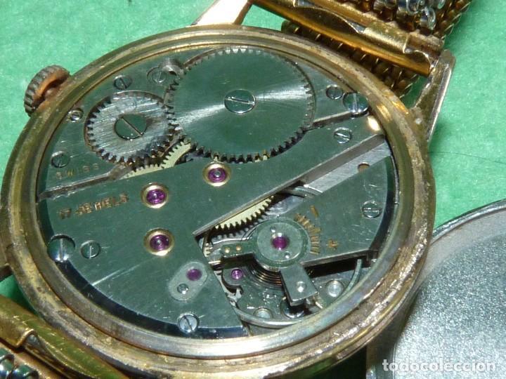 Relojes de pulsera: Fantastico reloj Edox Supersonic raro swiss made calibre AS1130 años 50 17 rubis correa extensible - Foto 8 - 116472207