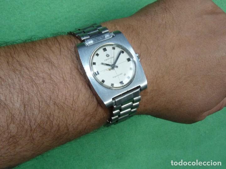 Relojes de pulsera: ESCASO CERTINA ARGONAUT 220 CARGA MANUAL CALIBRE 25-66 DE 17 RUBIS VINTAGE ORIGINAL AÑOS 60 - Foto 2 - 203786741