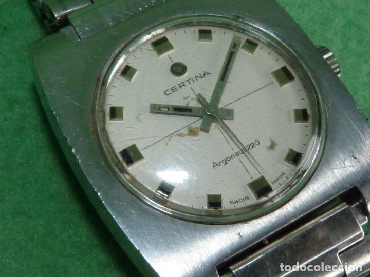 Relojes de pulsera: ESCASO CERTINA ARGONAUT 220 CARGA MANUAL CALIBRE 25-66 DE 17 RUBIS VINTAGE ORIGINAL AÑOS 60 - Foto 3 - 203786741
