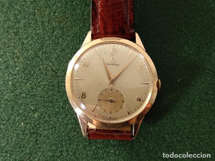 estilo de moda Super baratas Estados Unidos ANTIGUO RELOJ DE PULSERA OMEGA DE ORO 18K CAL. 266 - 1954/56.