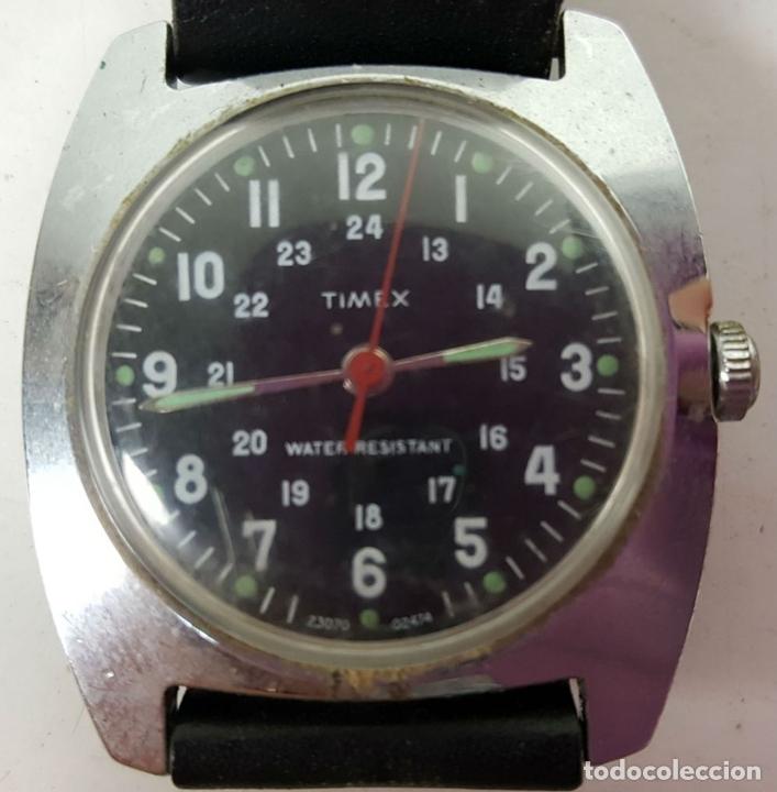 41085249b8e4 Relojes de pulsera  RELOJ DE PULSERA TIMEX. WATER RESISTANT. CAJA DE ACERO  INOXIDABLE