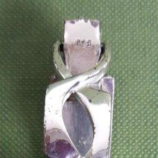 Relojes de pulsera: RELOJ DE SEÑORA SAVOY. CAJA Y CADENA DE PLATA 800. 17 JEWELS. SUIZA. CIRCA 1970.. Lote 116518683