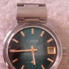 Relojes de pulsera: BONITO RELOJ VENTAGE DE PULSERA CARGA MANUAL PARA DAMA,CANON 17 JEWELS. Lote 116625763