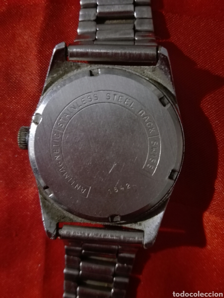 Relojes de pulsera: Reloj duward incabloc 17 rubis cuerda - Foto 5 - 116649196