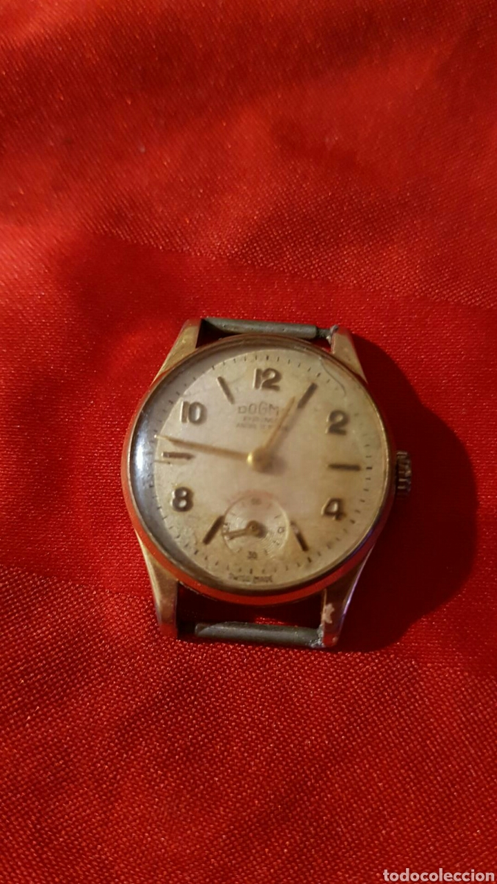 RELOJ ANTIGUO DOGMA PRIMA ORO 10 MICRAS (Relojes - Pulsera Carga Manual)