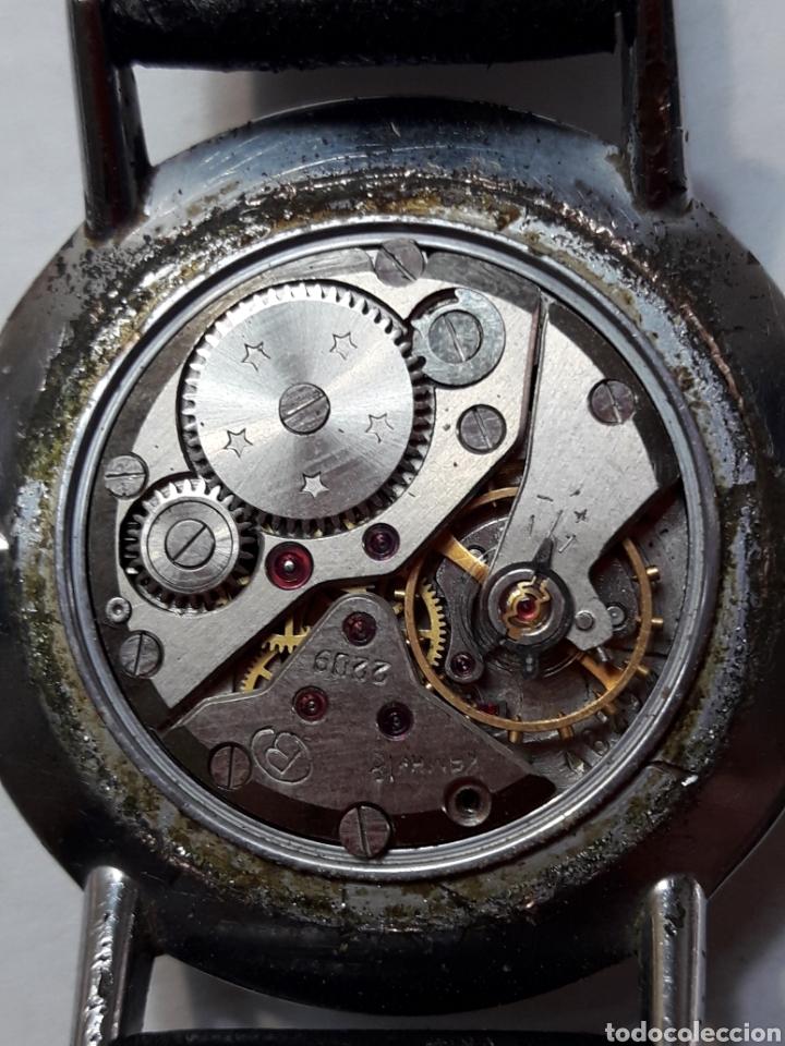 Relojes de pulsera: Reloj Antiguo de cuerda Boctok 18 Rubis Ruso funcionando - Foto 5 - 118386082