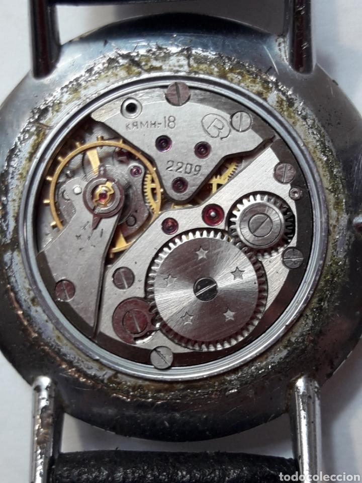 Relojes de pulsera: Reloj Antiguo de cuerda Boctok 18 Rubis Ruso funcionando - Foto 6 - 118386082